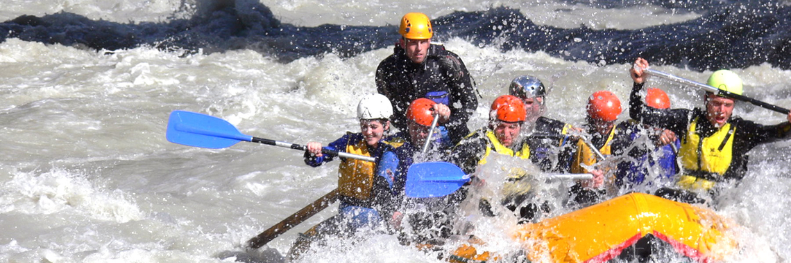 RAFTING , CANYONING und mehr...  - NATUR PUR OUTDOORSPORTS
